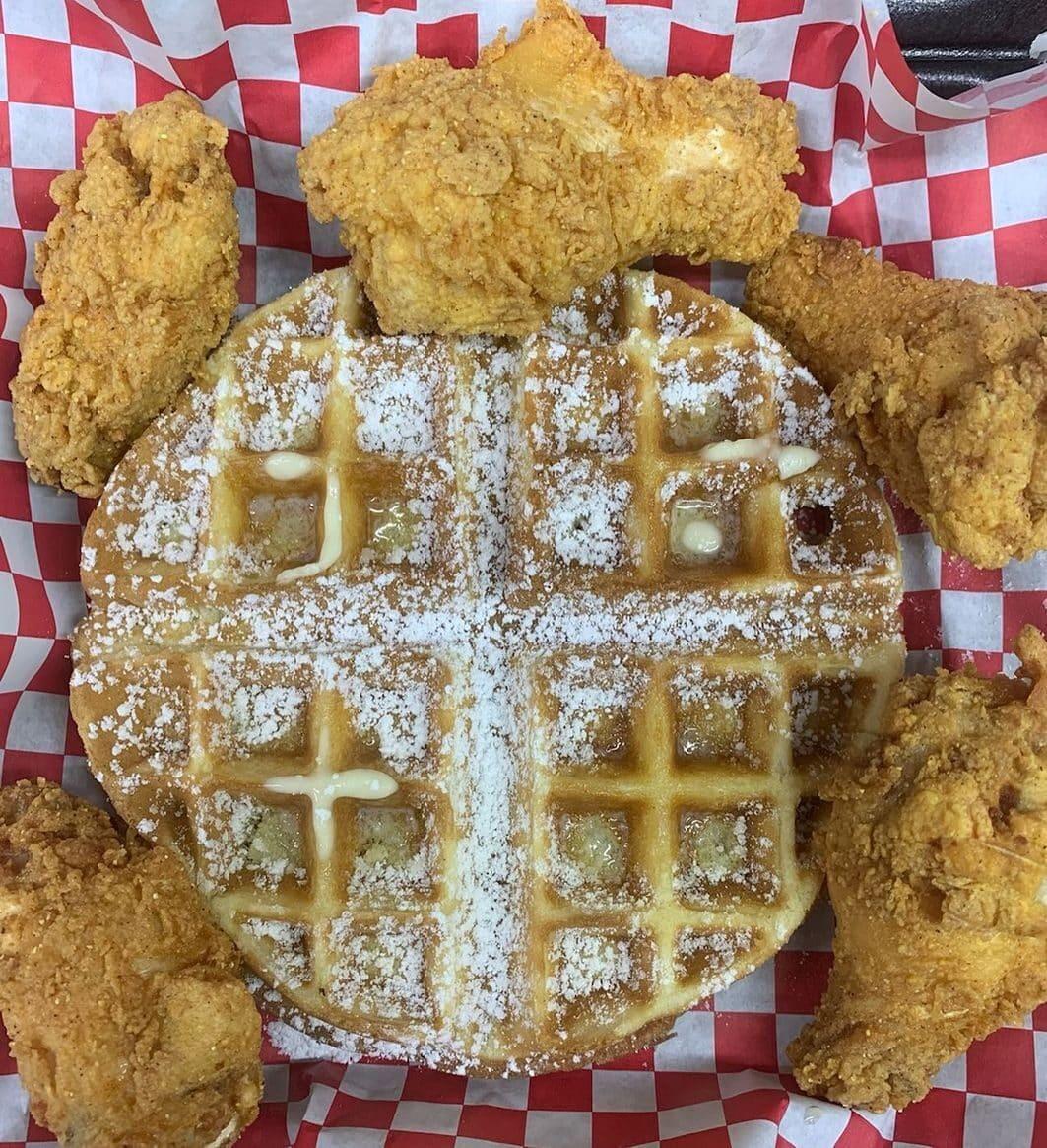 Chicken & Waffles Food Truck