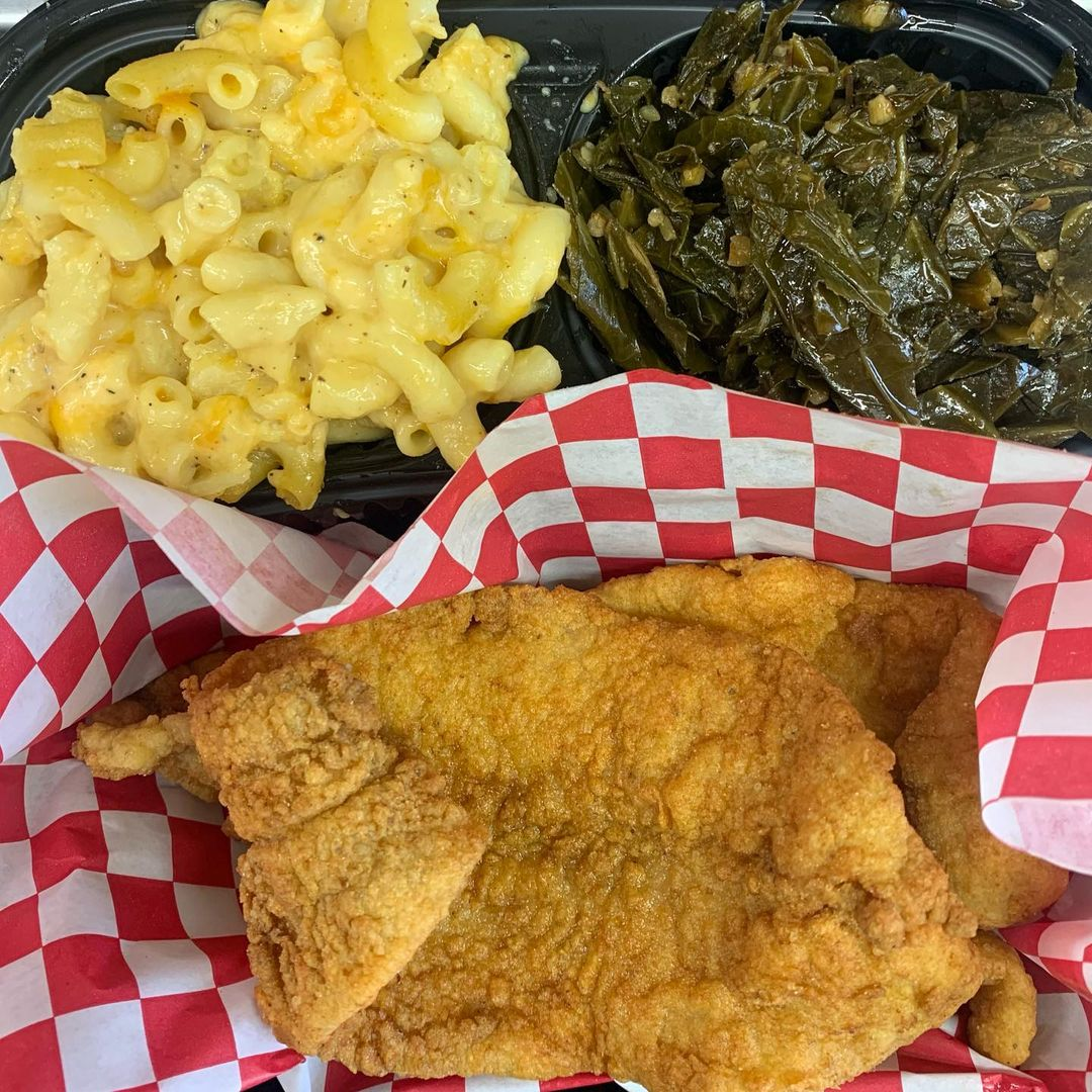 Soul Food Catering GG's Fish & Chips Food Truck NY