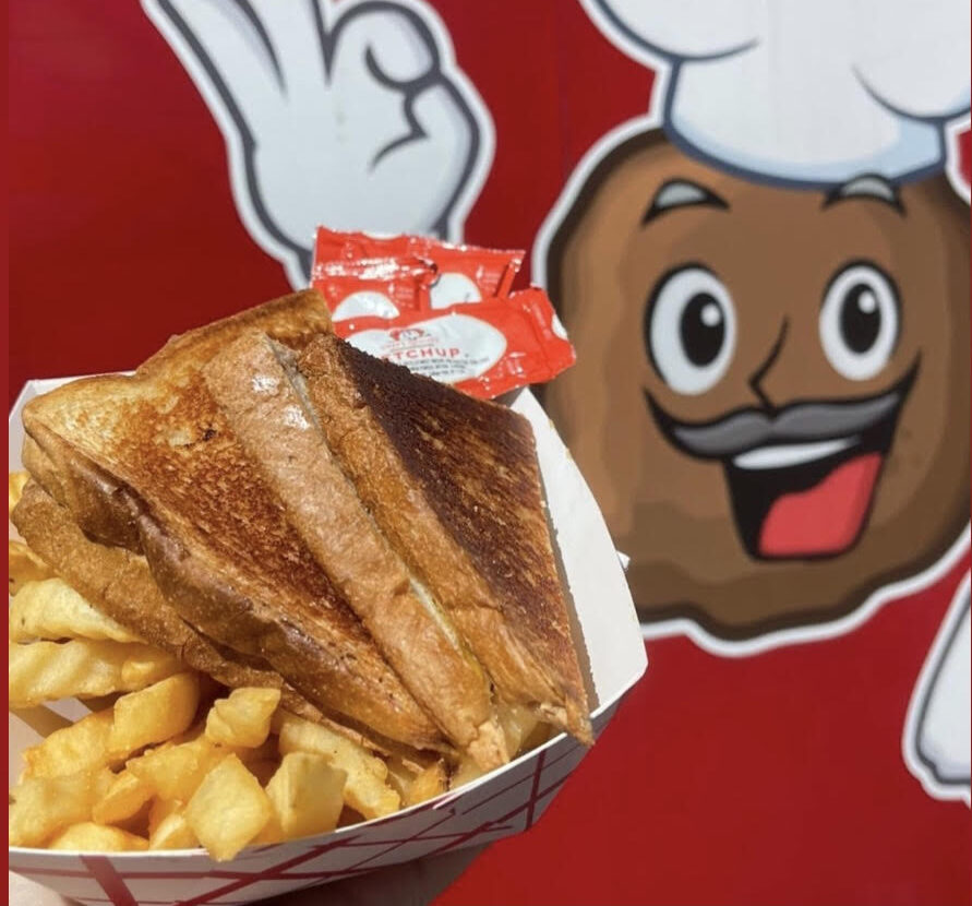 Mac's Food Truck Grilled Cheese