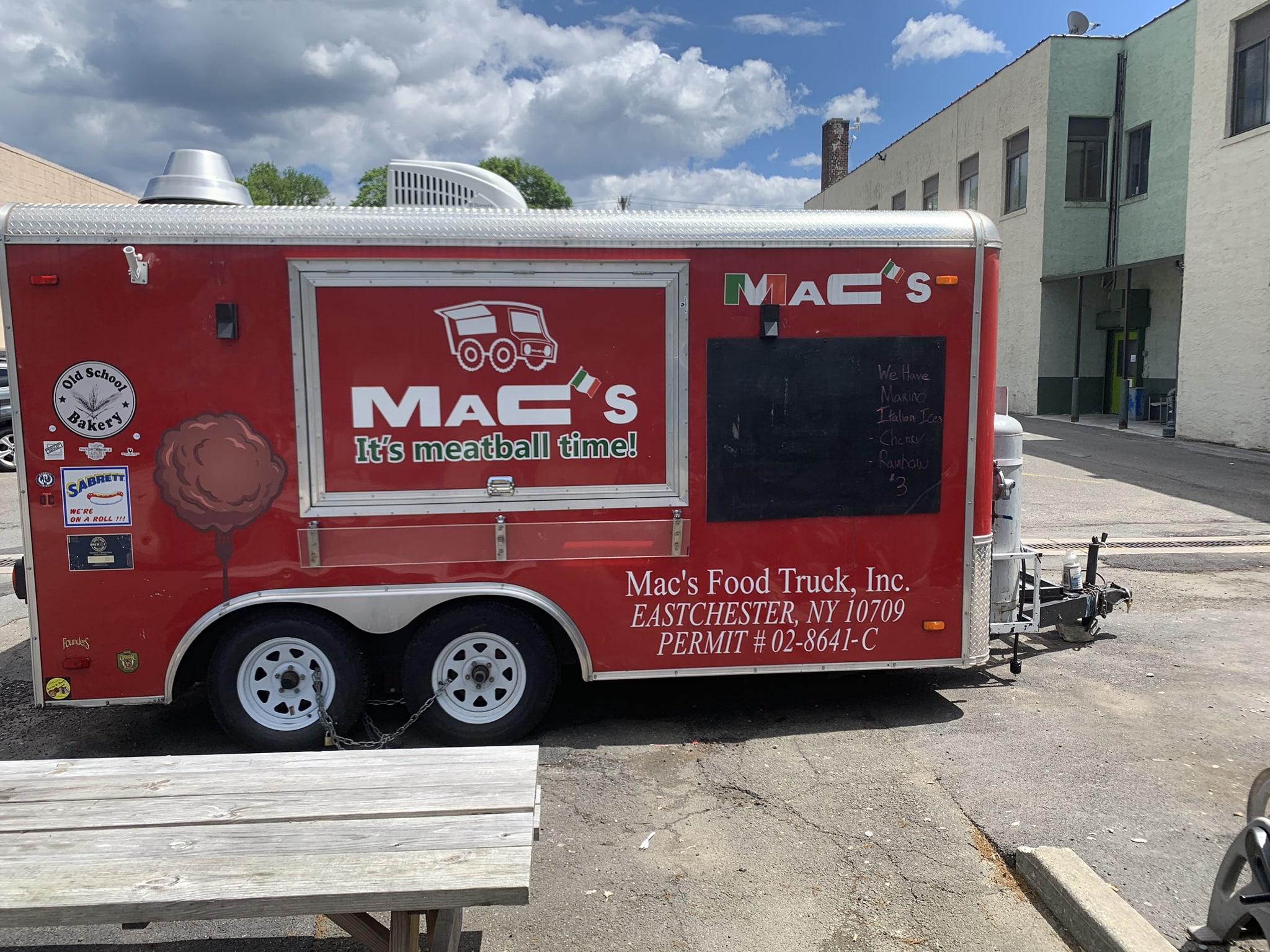 Macs Food Truck New York Catering