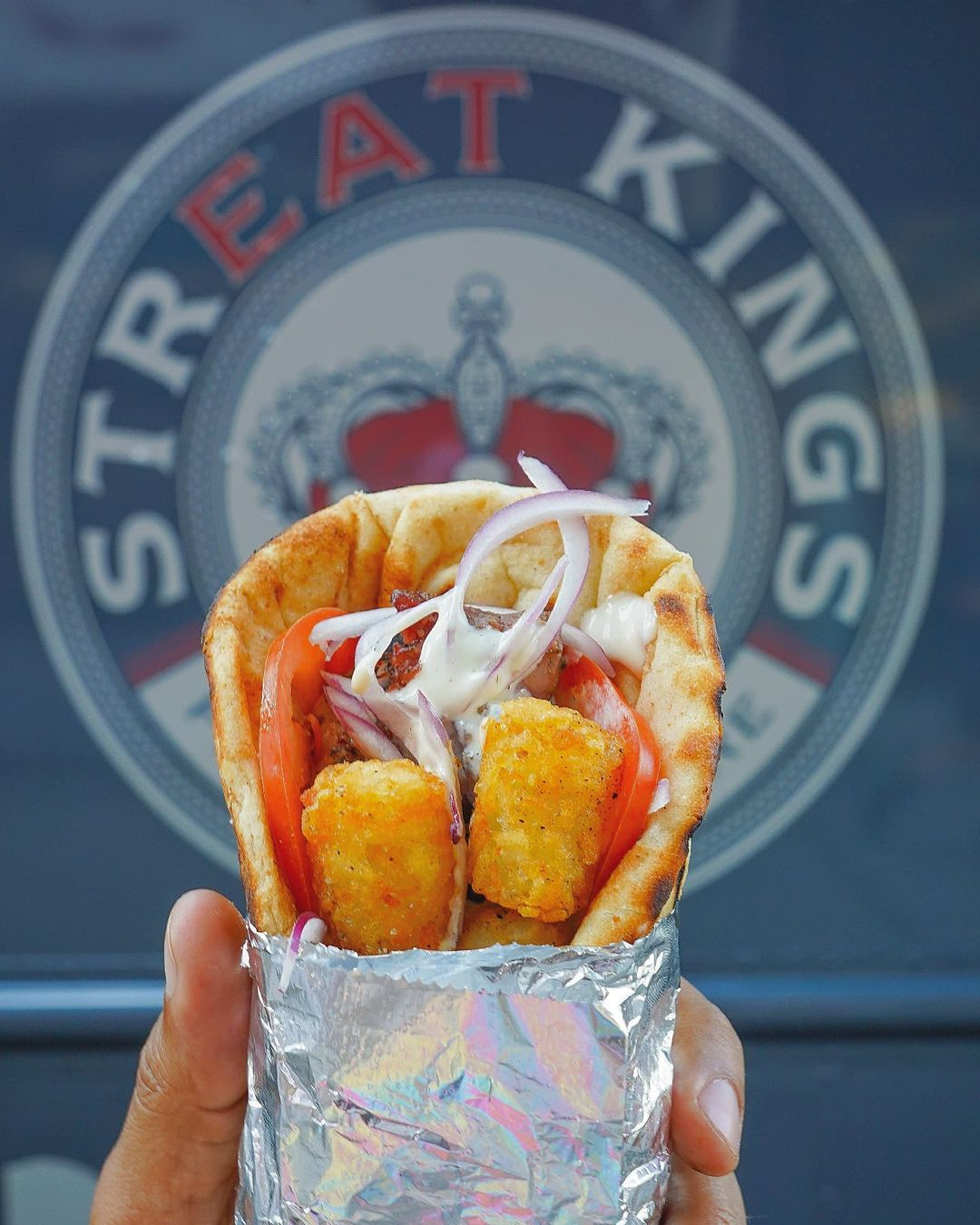 Tots Pork Gyro from Streat Kings New York Food Truck